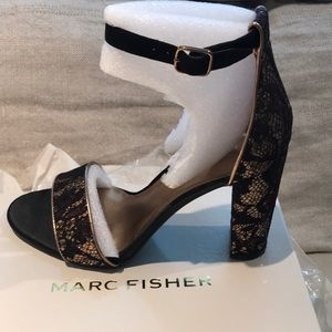 Mark fisher sexy dressy sandals size 8M